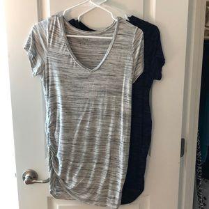 Bundle of two motherhood t-shirts size M